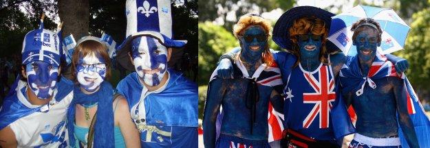 Nationalist outpourings. (Sources: La Revue, Hello)